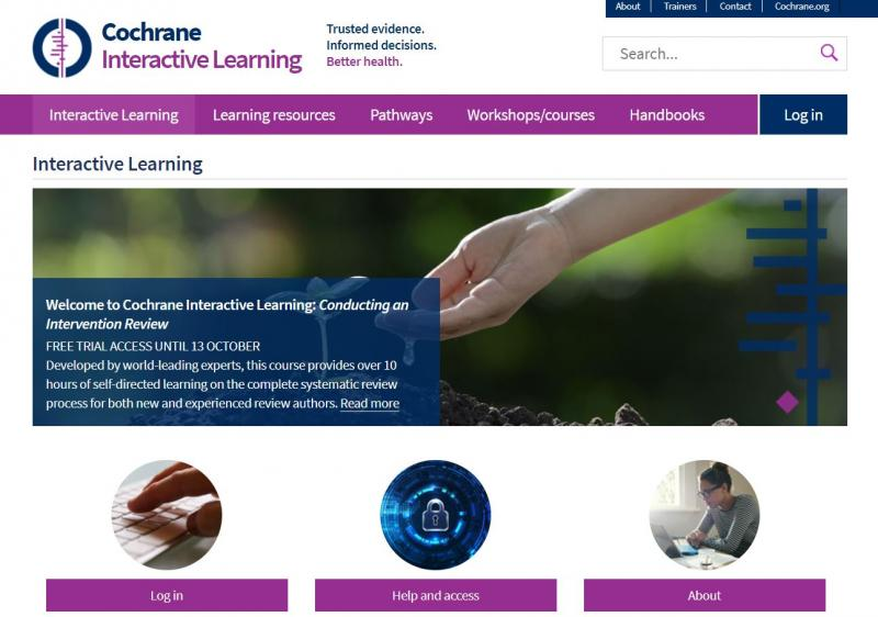 Cochrane Learning