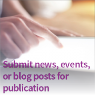 Submit news, events or blog posts