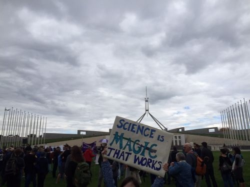 March for Science Canberra