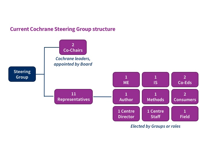 Current Cochrane Steering Group structure